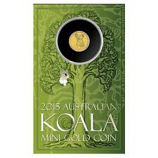Mini Koala 2015 0.5g Gold Coin
