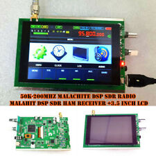 50K-200MHz Malachite DSP SDR Radio Malahit DSP SDR HAM Receiver +3.5 inch LCD 1P