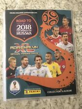 Panini Adrenalyn XL Road To 2018 FIFA World Cup Russia Binder (18 Cards)