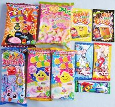 New 10 PCS SET Japanese Candy Kit Kracie poppin cookin Nyoki Nyoki Dodotto Gummy