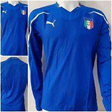 Puma Italien Trikot Italia Jersey gli azzurri squadra azzurra langarm blau XL LO