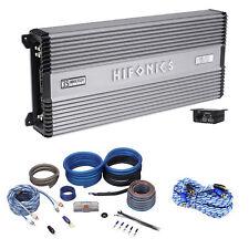 Hifonics Helios 2400 Watt 4-Channel 2-Ohm Car Amplifier Class A/B + OFC Amp Kit