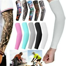 10Pcs Cooling / Tattoos Arm Sleeves Sun UV Protection Cover Sport Basketball