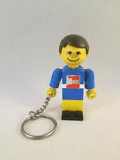 Lego Keychain / Keyring - Homemaker Maxifig Man Male - Key Chain / Ring