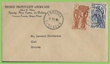 Cameroon 1940's American Protestant Mission Njazeng cover to Ebolova