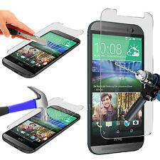 100% Rigide Film protecteur écran en verre trempé Pour HTC One M8