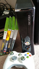 XBOX 360 (S) 250GB - COMPLETE SETUP- CONTROLLER & 4X GAMES incl