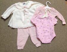 Baby Girls 4 Pc. Set Little Lindsey Jacket*Sleeper*Thermal Shirt*Pants 0-6 mos