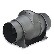 Powerful Inline Bathroom Extractor Fan - 4 inch - with Timer - Loft Ventilation