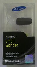 New Samsung HM1800 Stereo Bluetooth Wireless Headset  W/ Noise Cancellation Tech