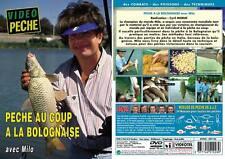 DVD Pêche à la bolognaise avec Milo - Pêche au coup - Vidéo Pêche