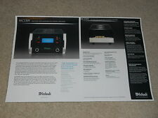 McIntosh MC2301 Tube Amplifier Brochure, 2 pages, 2006, Specs, Articles, Info
