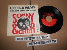 "7"" Pop Sonny & Cher - Little Man / Bring It On Home To Me ATLANTIC"