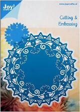 JOY CRAFTS Die Cutting & Embossing Stencil ROUND no. 1 - 6003/1001