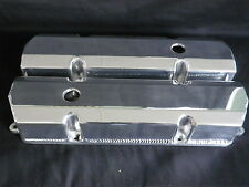 VALVE COVERS FABRICATED ALUMINIUM HOLDEN 253 - 308 POLISHED