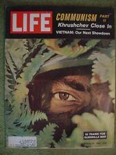 LIFE MAGAZINE OCTOBER 27 1961 KHRUSHCHEV VIETNAM COMMUNISM