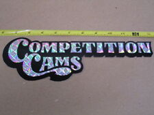 "Vintage 80's Comp Cams 11"" PRIZM DECAL Nascar Indy"