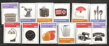 2011 #4546a-l Pioneers of Industrial Design 12 single stamps MNH