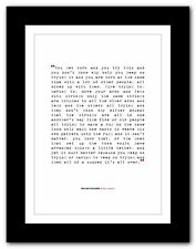 WILLIAM FAULKNER Absalom, Absalom ! ❤ typography book quote poster print #243