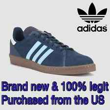 Adidas Skateboarding CAMPUS AS Men's SIZE 9.5 Skateboard Shoes BLUE