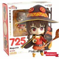 Anime Nendoroid 725 Konosuba MEGUMIN Action PVC Figure Toys New In Box 10cm 2021