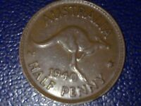 AUSTRALIAN - 1940 HALF  PENNY - VERY HIGH GRADE