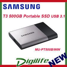 Samsung T3 500GB SSD Portable Hard Drive USB3.1 Gen1 MU-PT500B/WW