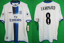 2003-2004 Chelsea FC Jersey Shirt Away Fly Emirates Lampard #8 Asia Cup L BNWT