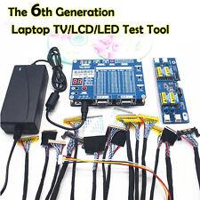 LED LCD Panel Tester Tool Kit for TV Laptop Computer Screen Repair w/55 Programs