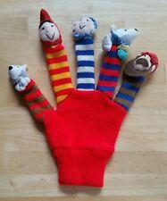 DAKIN APPLAUSE Story Time Little Red Riding Hood Glove Finger Hand Mitt Puppet