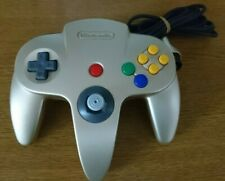 Official Nintendo 64 Controller GOLD N64 GAMEPAD (FREE P+P AnyWhere) Great Condi