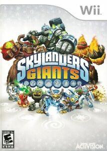 Skylanders Giants - Nintendo  Wii Game