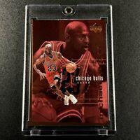 MICHAEL JORDAN 1998 UPPER DECK #310 BRONZE PARALLEL CARD #'D /100 CHICAGO BULLS