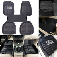5Pcs/set universal grey car floor mats auto floor liner leather carpet mat  YE
