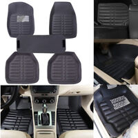 5Pcs/set universal grey car floor mats auto floor liner leather carpet mat  FBB