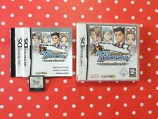 Phoenix Wright Ace Attorney Justice For All Nintendo DS Lite XL 3DS OVP Anleitun