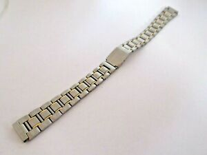 Two Tone Stainless Steel 12mm Watch Strap Deployment Clasp