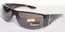 SPY OPTICS Cooper XL Sunglasses Black Fade/Grey NEW 670036316129
