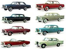 Mercedes Workshop Service Manual w108 w109 w113 w112 w111 110 300 250 230 220