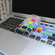 Silicone Keyboard Cover Photoshop Shortcuts for Apple MacBook Air Pro 13.3 15.4