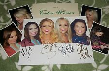 CELTIC WOMEN Autographed Photo & Photos REAL Collectible