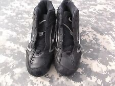 Nike High Top Football Rugby Cleat Black Size 3y 6636