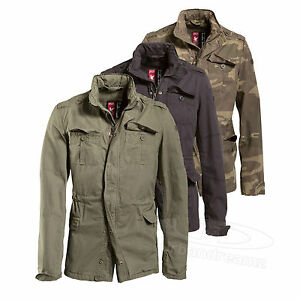 Surplus™ Vintage Jacket Delta Britannia M65 Field Regiment Giant Army Parka