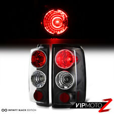 04-08 Ford F-150 V8 {STYLESIDE} Black Tail Lights Rear Brake Lamp LH RH Pair