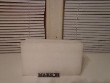 1980 81 82 83 Lincoln Continental Mark vi Trunk Deck Lid Insignia Name Emblem