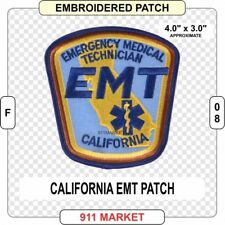 California EMT Patch EMS Medic Emergency CA state Paramedic Medical FD US - F 08