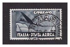 REGNO D'ITALIA 1933  -  ESPRESSO AEREO Lire 2,25  USATO