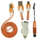 Trio Paquet Micro USB,Chargeur Auto,Mini Stylet pour M-cheval Power 2 Smartphone
