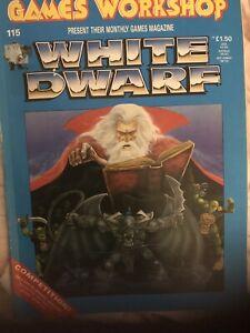 WHITE DWARF Magazine Issue 115 Warhammer