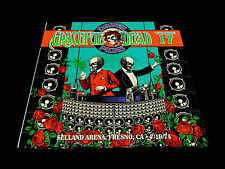 Grateful Dead Dave's Picks 17 Seventeen Selland Arena Fresno Wall Of Sound 3 CD